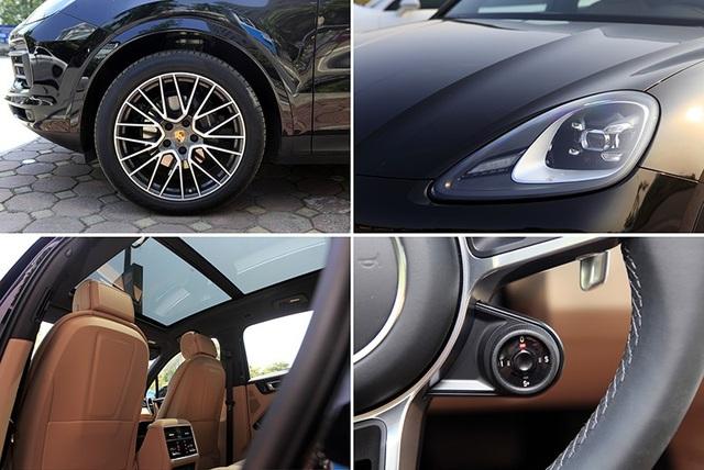 Những trang bị lựa chọn thêm được lắp trên Porsche Cayenne V6 3.0L