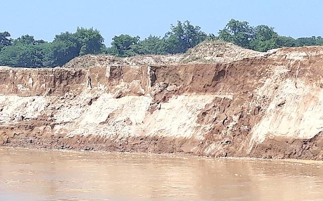 Sạt lở bờ sông Lam, mất đất sản xuất, người dân kêu cứu! - 3