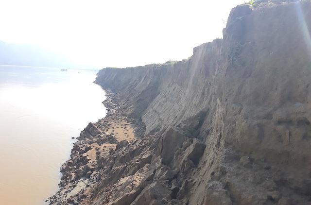 Sạt lở bờ sông Lam, mất đất sản xuất, người dân kêu cứu! - 7