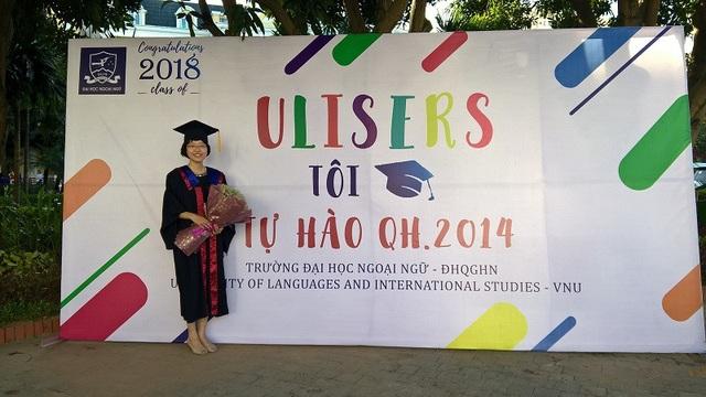 Nữ thủ khoa ĐH Ngoại ngữ - ĐHQGHN Nguyễn Trần Trâm Anh