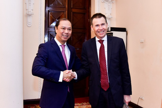 Hai Trưởng đoàn đối thoại Việt Nam - Australia