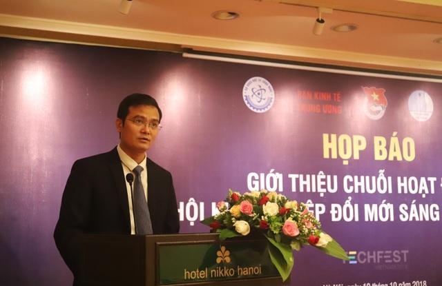 Bí thư TW Đoàn TNCS Hồ Chí Minh Nguyễn Quang Huy .