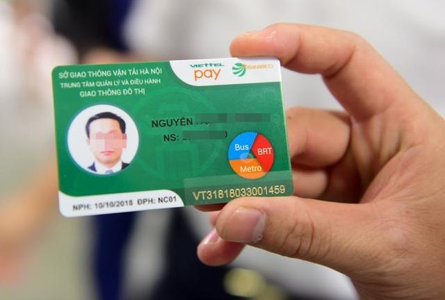 Thẻ điện tử theo tháng bắt đầu được sử dụng từ ngày 10/10/2018
