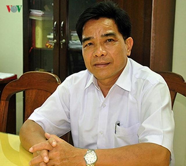 Ông Lê Văn Dũng, Trưởng Ban Tổ chức Tỉnh ủy Quảng Nam.