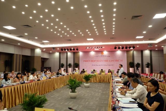 Phiên họp về luật phòng chống tác hại của bia, rượu của UB Các vấn đề về xã hội của Quốc hội vừa diễn ra tại Đà Nẵng ngày 11/10