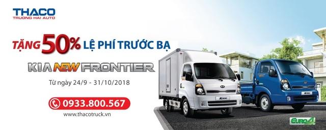 Kia New Frontier - Xe tải nhỏ máy dầu được khách hàng tin dùng - 5