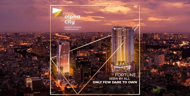 Thu Thiem Real là đơn vị phân phối chính thức của dự án Alpha City