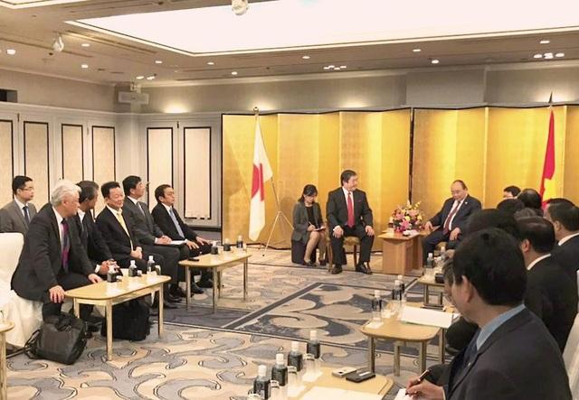 Chủ tịch HĐQT Kiêm TGĐ Tập đoàn T&T Group Đỗ Quang Hiển tham dự cùng Thủ tướng Chính phủ tiếp Tập đoàn Mitsui