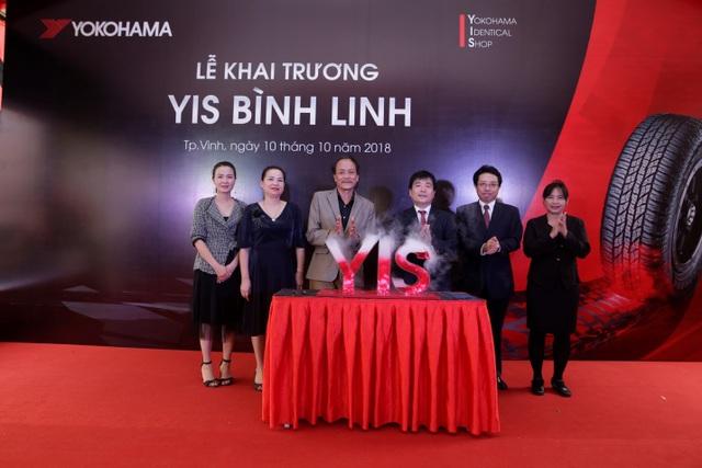 Yokohama Tyre Việt Nam tiếp tục mở rộng hệ thống cửa hàng YIS