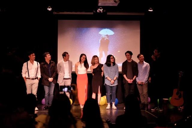 Các nghệ sĩ tại đêm nhạc (Ảnh: Minh Quang)
