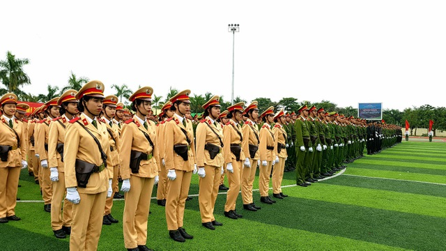 Học viện Cảnh sát nhân dân duyệt binh mừng năm học mới - 3