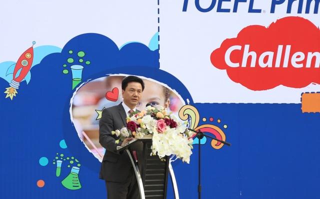 Ông Đoàn Hồng Nam - Chủ tịch IIG Việt Nam, Trưởng BTC phát biểu khai mạc cuộc thi