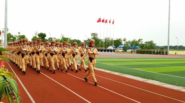 Học viện Cảnh sát nhân dân duyệt binh mừng năm học mới - 4