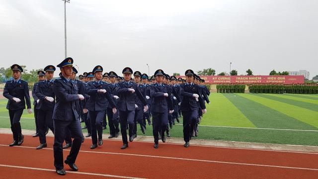 Học viện Cảnh sát nhân dân duyệt binh mừng năm học mới - 6