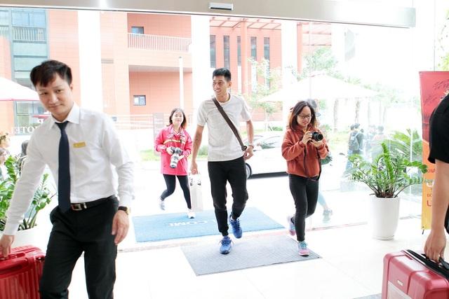 Đội tuyển Việt Nam hội quân chuẩn bị cho AFF Cup 2018