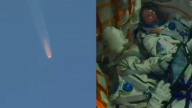 Sự cố đã buộc 2 phi hành gia phải hạ cánh khẩn cấp (Ảnh: RT)