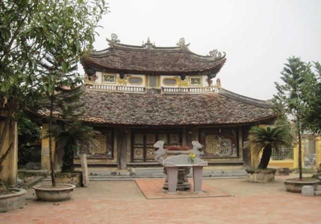 Nghè làng Nguyệt Viên nơi lưu giữ danh sách và tôn vinh những người con trong làng đỗ đạt.