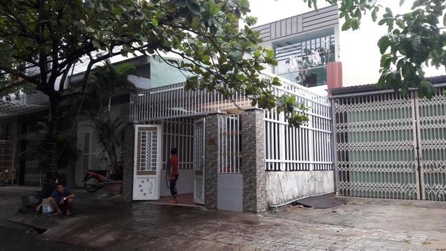 Ngôi nhà gia đình ông Thành ở trước khi ông Thành bỏ trốn tại phường Hoà Minh, quận Liên Chiểu, Đà Nẵng