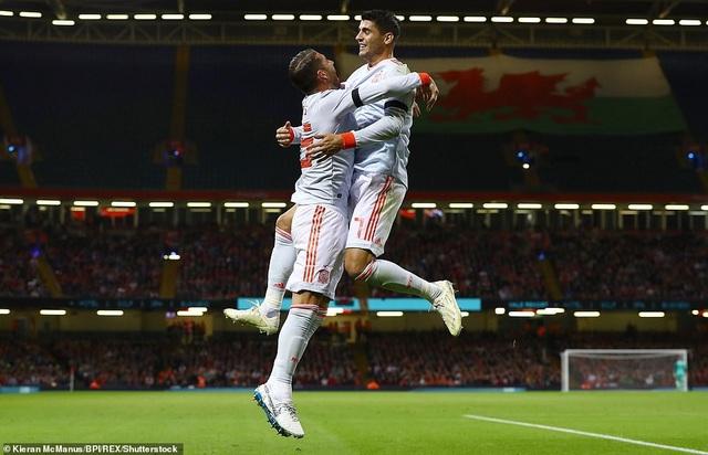 Xứ Wales thảm bại trước Tây Ban Nha trên sân nhà - 12