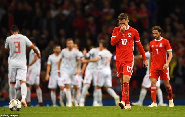 Xứ Wales đã chơi một trận đấu dưới cơ hoàn toàn