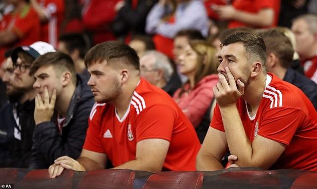 Nỗi buồn của cổ động viên Xứ Wales