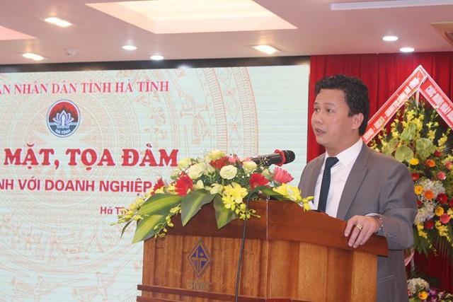 Ông Đặng Quốc Khánh, Chủ tịch UBND tỉnh Hà Tĩnh