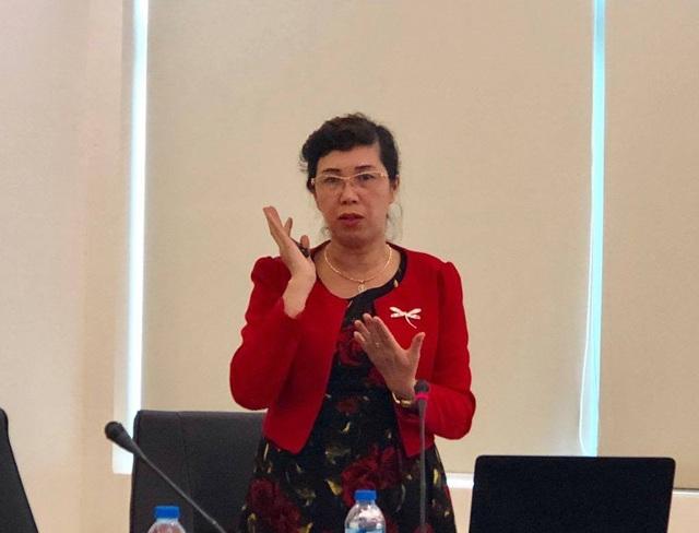 Ths.BS Trần Khánh Vân, Phó trưởng khoa Vi chất dinh dưỡng.