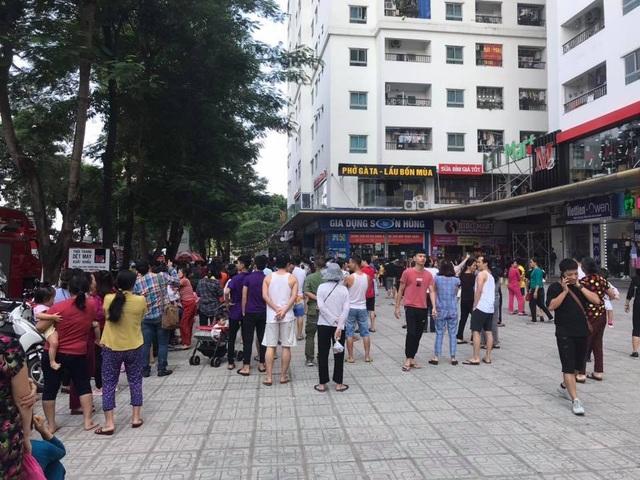 Hà Nội: Cháy căn hộ tầng 31 tại chung cư Linh Đàm - 2