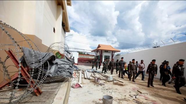 Nhóm 11 người Duy Ngô Nhĩ đã chạy đến Malaysia sau khi vượt ngục Thái Lan hồi tháng 11 năm ngoái (Ảnh: AFP)