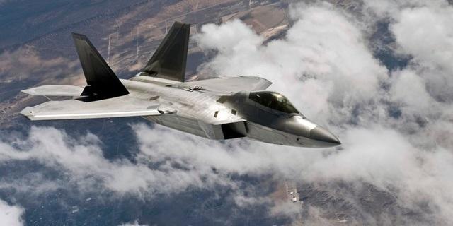 Máy bay chiến đấu F-22 (Ảnh: Quân đội Mỹ)