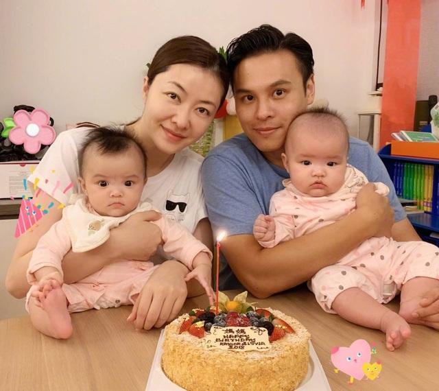 Quách Khả Tụng là một doanh nhân giàu có và con một trong một gia đình có máu mặt tại Hồng Kong. Chính vì thế, anh và Đại Hùng đã lên kế hoạch sinh thêm con trong tương lai gần. Mỹ nhân U40 cũng từng thổ lộ, cô yêu gia đình và thích có thật nhiều con.