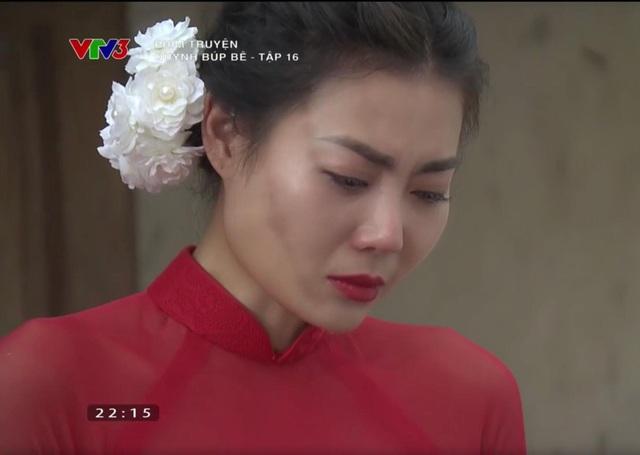 Cảnh Lan cave bị gia đình nhà chồng tố từng làm gái ngay trong ngày cưới, khi vừa khoác lên mình chiếc áo cô dâu trong tập 16.