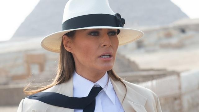 Đệ nhất phu nhân Mỹ Melania Trump (Ảnh: Mashable)