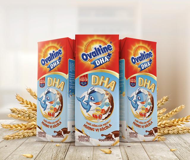 Ovaltine lần đầu tiên ra mắt sản phẩm ca cao lúa mạch có chứa DHA - 2