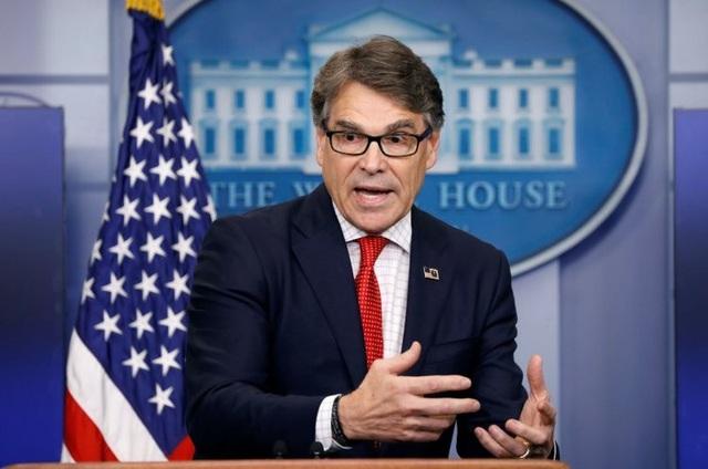 Bộ trưởng Năng lượng Mỹ Rick Perry (Ảnh: Reuters)