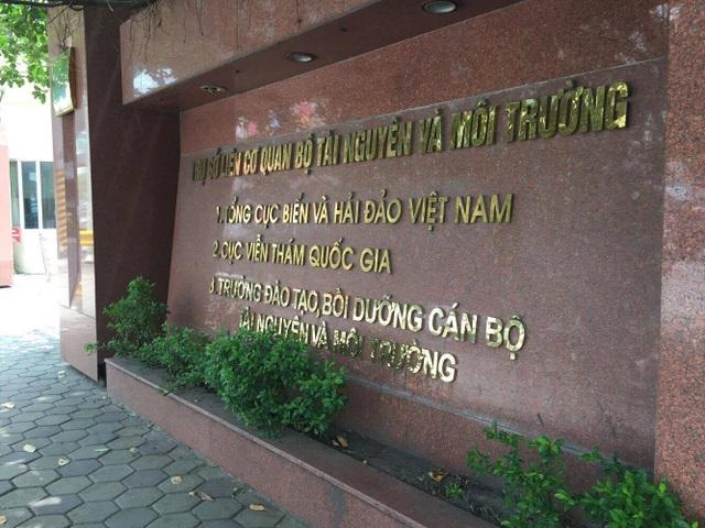 Sự việc đề xuất kéo dài thời gian giữ chức danh Giám đốc Trung tâm Hải văn cho ông Trần Hồng Lam đang gây xôn xao dư luận tại Tổng cục Biển và Hải đảo Việt Nam (Ảnh: Nguyễn Trường).
