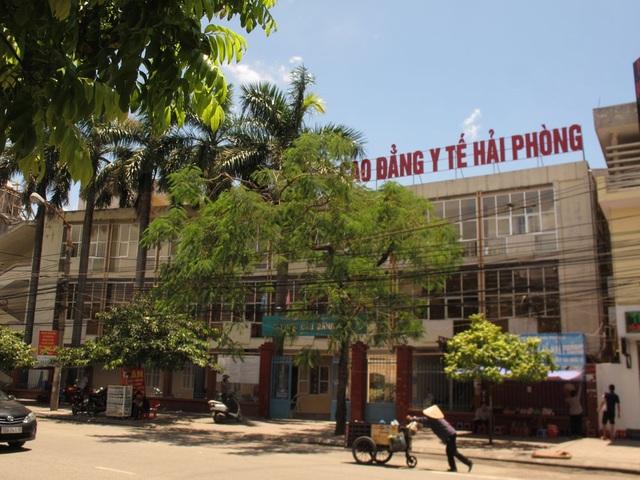 Trường Cao đẳng Y tế Hải Phòng. (ảnh internet)