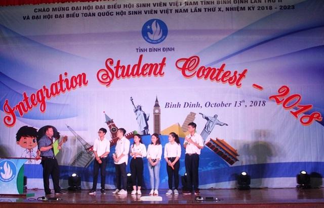 """Các bạn sinh viên tham gia cuộc thi """"Integration Students"""" 2018."""