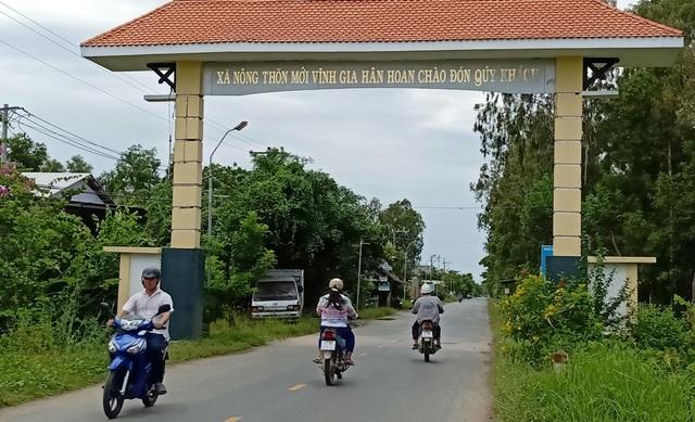 Xã biên giới Vĩnh Gia thật sự đổi mới từ khi xã được chọn xây dựng xã Nông thôn mới