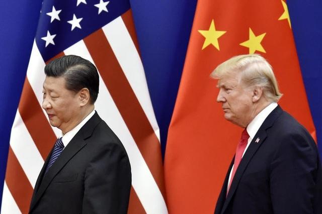 Tổng thống Donald Trump và Chủ tịch Tập Cận Bình (Ảnh: Kyodo)