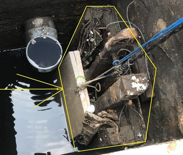 Đây chính là lá chắn điều tiết nước về máy bơm