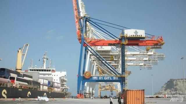 Một báo cáo ở Pháp nói rằng, hơn 90% nguồn thu từ dự án cảng Gwadar ở Pakistan trong vòng 40 năm tới sẽ mang lại lợi ích cho Trung Quốc. (Ảnh: AFP)