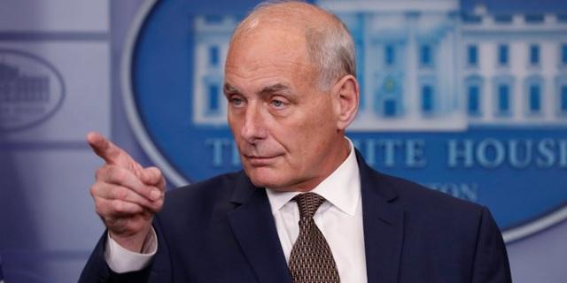 Chánh Văn phòng Nhà Trắng John Kelly (Ảnh: Reuters)