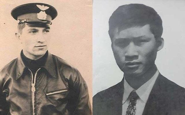 Hai phi công Poyarkov Yuri Nikolaevich và Công Phương Thảo.