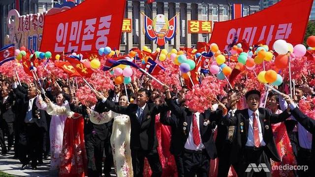 Chương trình biểu diễn tại một sự kiện ở Bình Nhưỡng. (Ảnh: Media Corp)