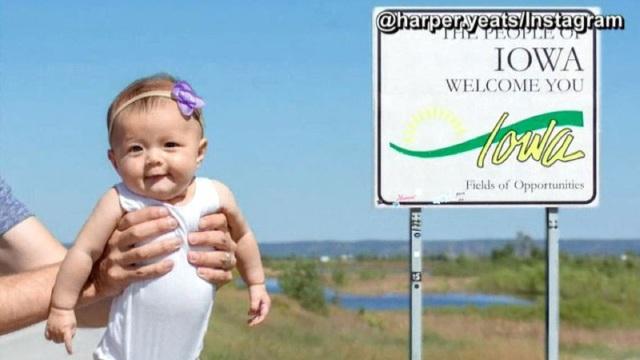 Bé gái 5 tháng tuổi du lịch gần 50 bang nước Mỹ - 9