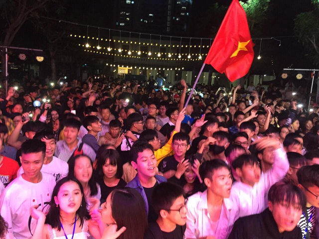 Lễ hội thực sự thành công với sự tham gia của hơn 4000 bạn trẻ trên địa bàn TP Vinh.