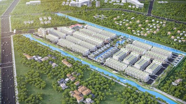 Thị trường bất động sản Long An trong tầm ngắm giãn dân đô thị