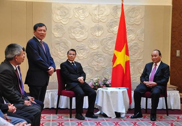 Thủ tướng Nguyễn Xuân Phúc tiếp Liên hiệp Hội người Việt Nam tại Châu Âu và Hội người Việt Nam tại Cộng hòa Czech