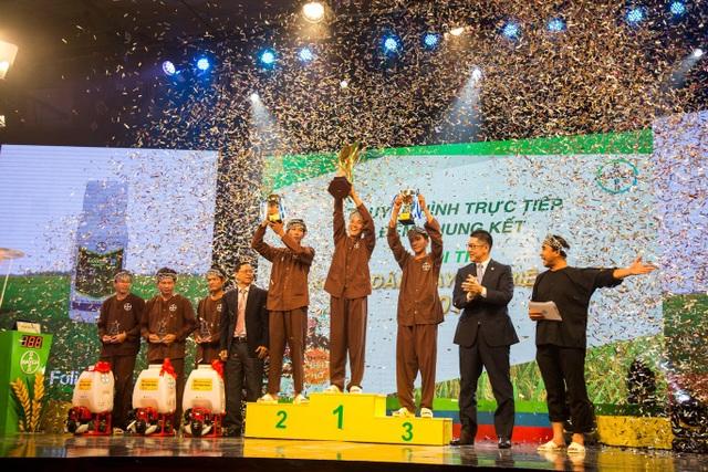 Đêm chung kết hội thi Nông dân Bayer triệu phú năm 2018